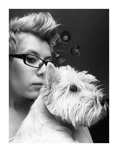 собака, мысли, чтение, язык