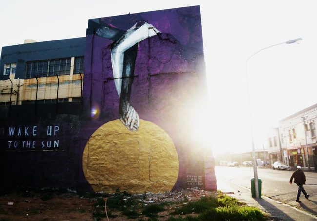 36 работ в стиле стрит-арт, обращающих внимание на проблемы нашей планеты