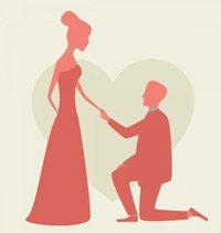 Как сделать идеальное предложение руки и сердца