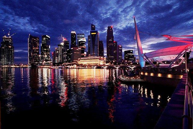 Переезд и работа в Сингапуре