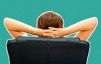 З простые позы, которые помогут повысить продуктивность вработе