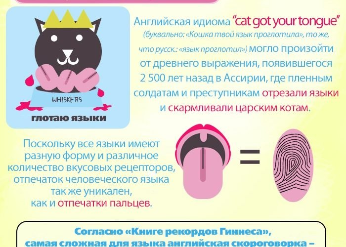 Язык: 15 фактов, о которых ты не знаешь