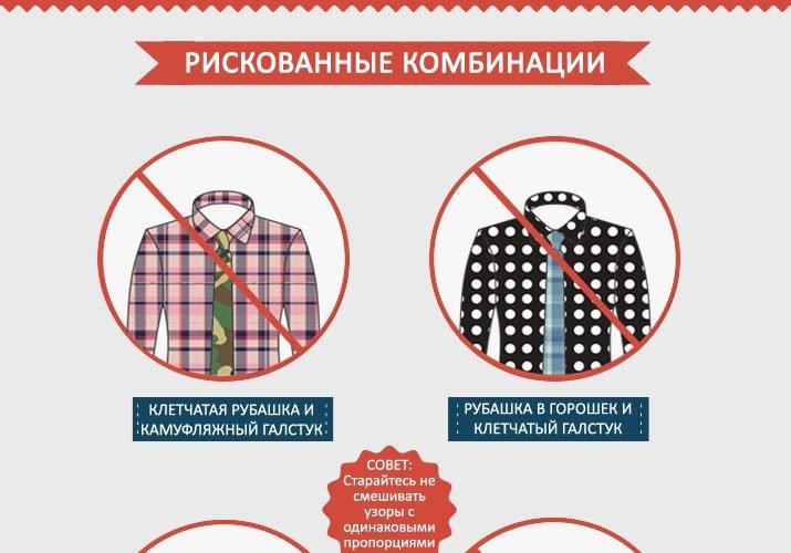 Гид по сочетанию рубашек и галстуков