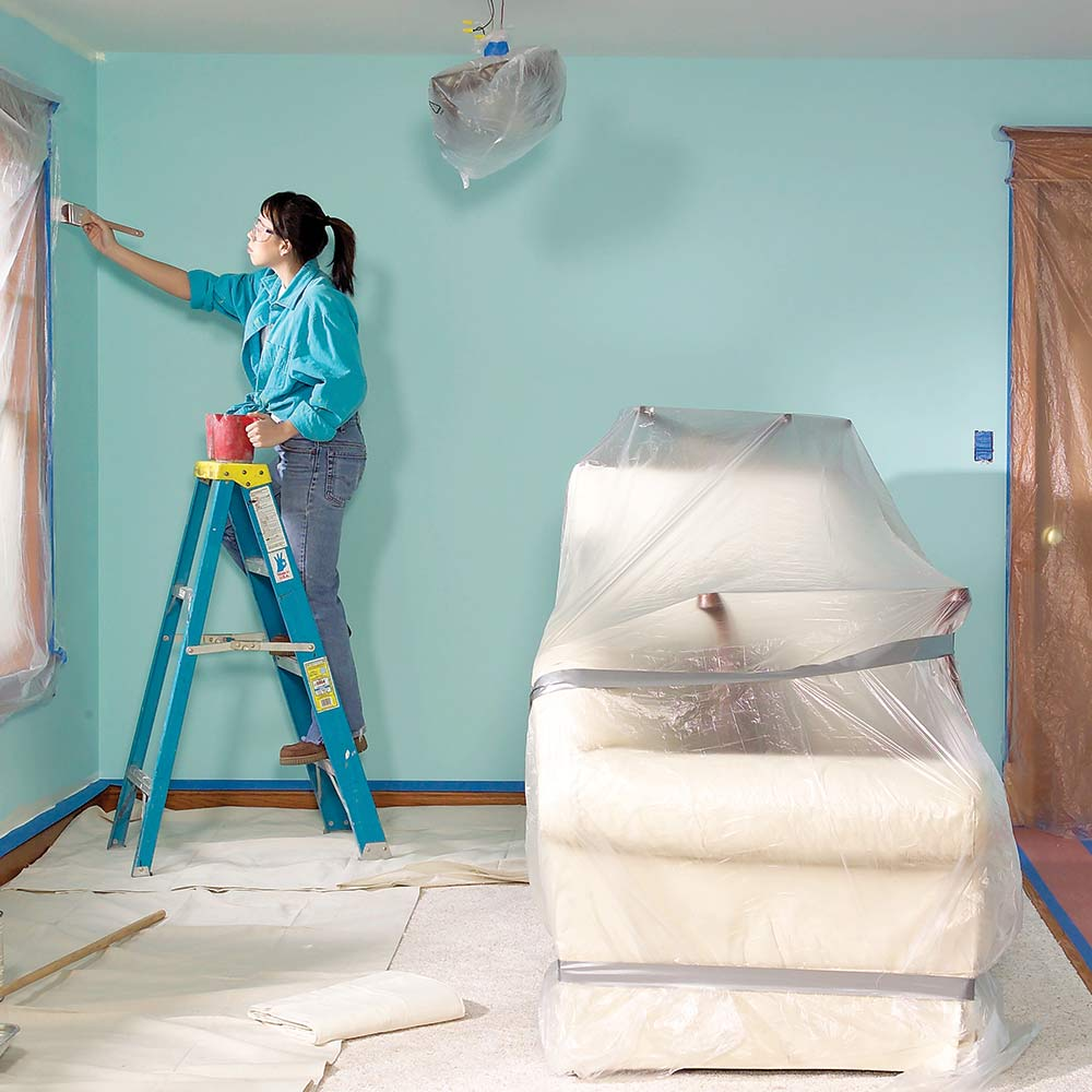 14 подсказок, как покрасить комнату быстро и без бардака