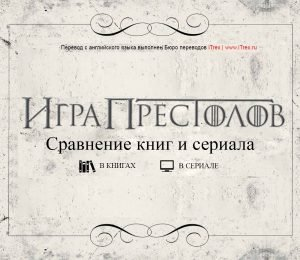 Read more about the article Игра Престолов: сравнение книг и сериала