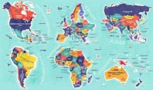 Read more about the article Карта мира с буквальным переводом названий всех стран. Готовьтесь удивляться!