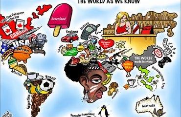 О стереотипах 70 стран мира (видео)