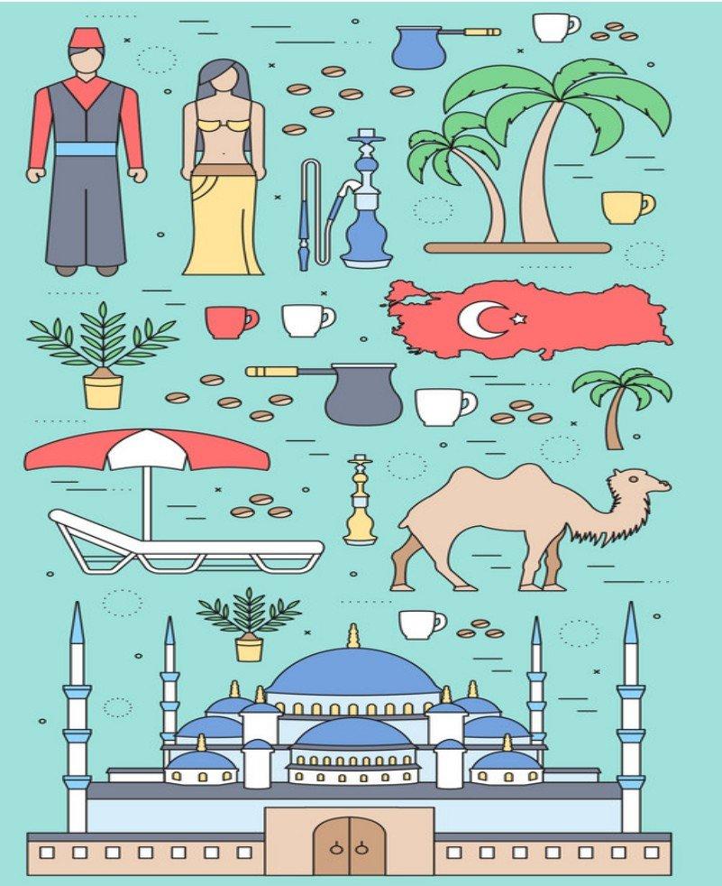 You are currently viewing 22 интересных факта о турецком языке