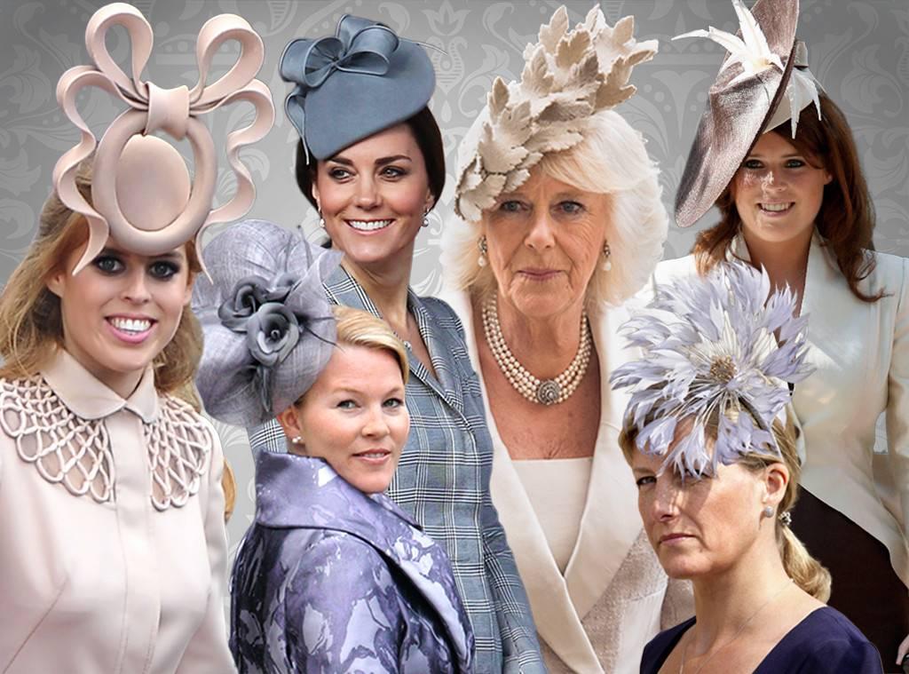 Английские шляпки