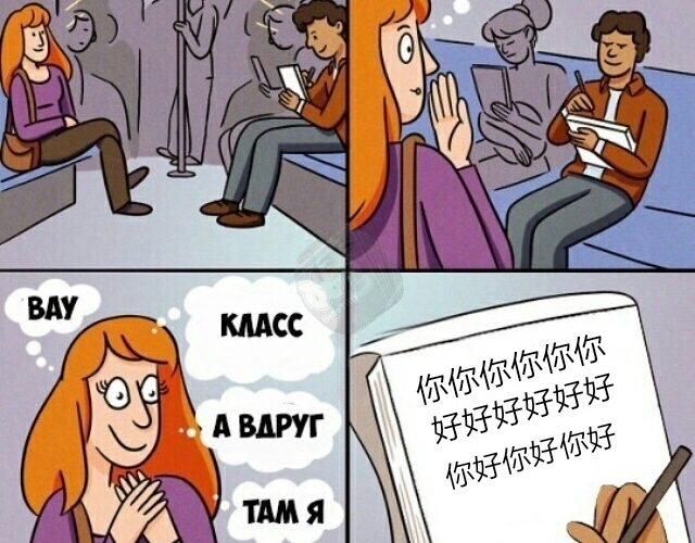 Сложный китайский язык